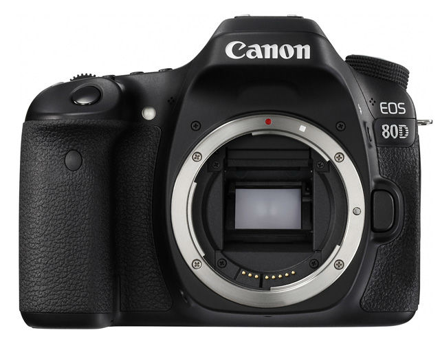 New Canon EOS 80D Camera Front