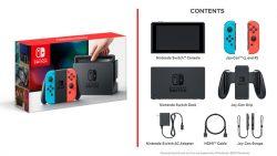 Nintendo Switch detail sheet