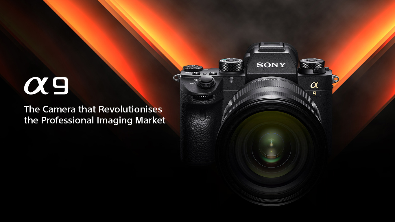 Sony a9 release pic